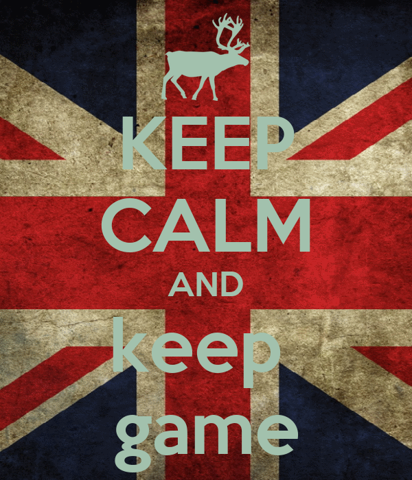 KEEP CALM AND keep  game