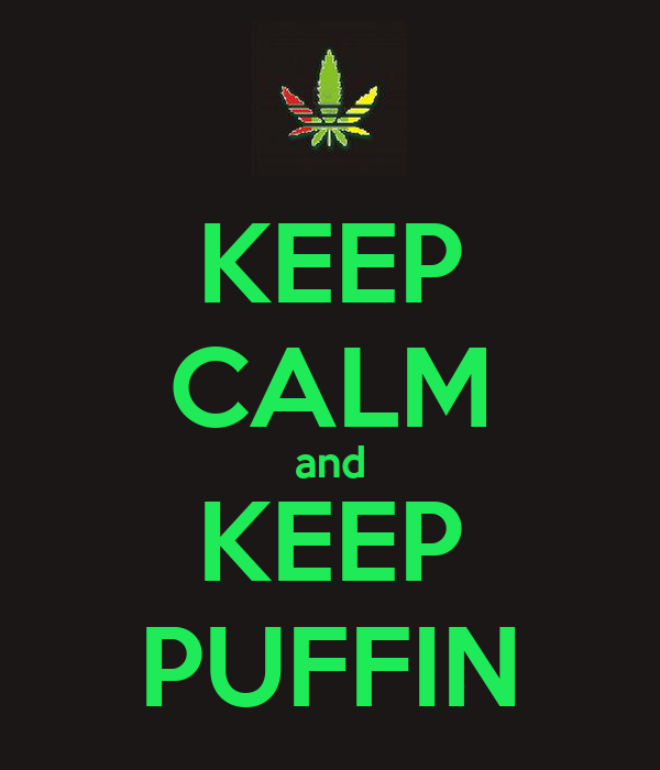 KEEP CALM and KEEP PUFFIN