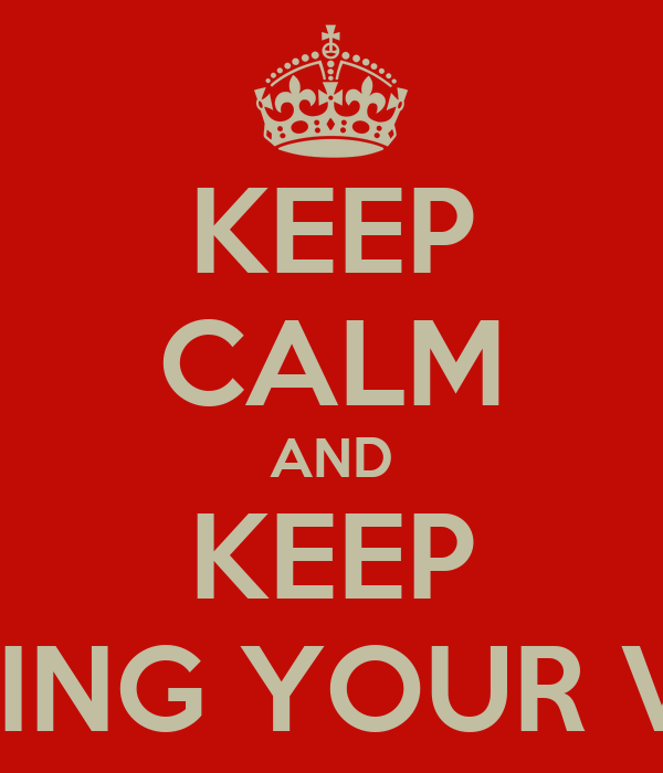 KEEP CALM AND KEEP RENTING YOUR VILLA