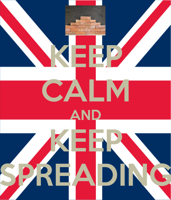 KEEP CALM AND KEEP SPREADING