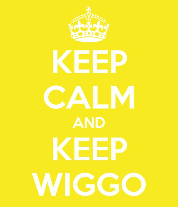 KEEP CALM AND KEEP WIGGO
