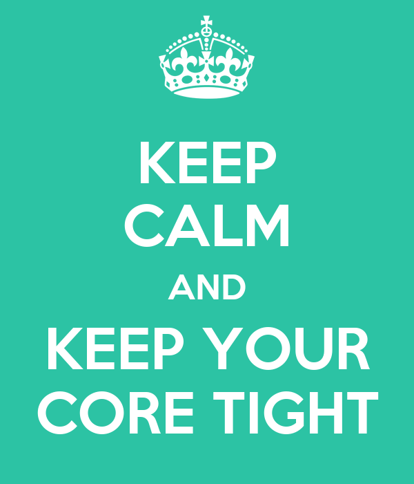 how to keep your core warm