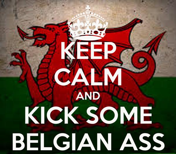 KEEP CALM AND KICK SOME BELGIAN ASS