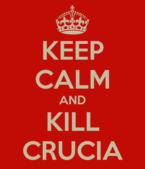 KEEP CALM AND KILL CRUCIA