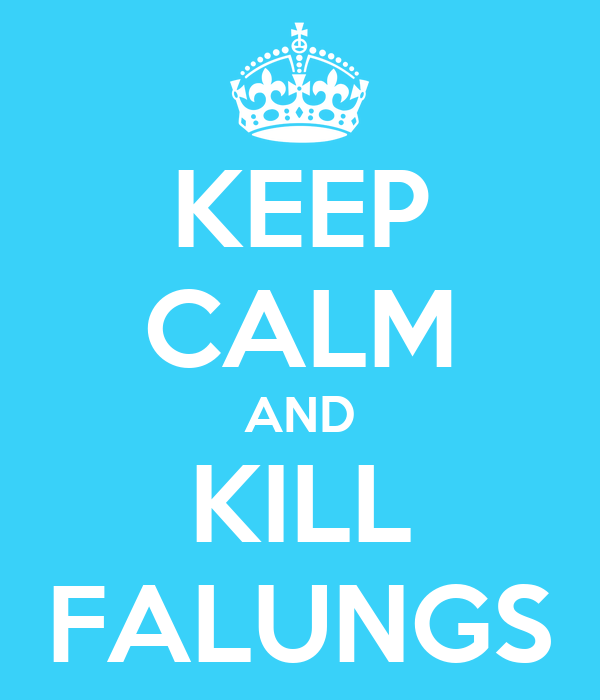 KEEP CALM AND KILL FALUNGS