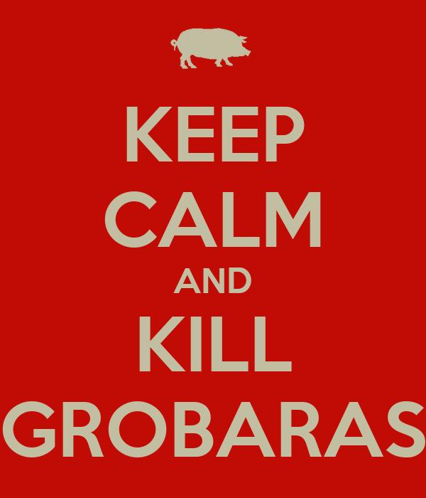 KEEP CALM AND KILL GROBARAS