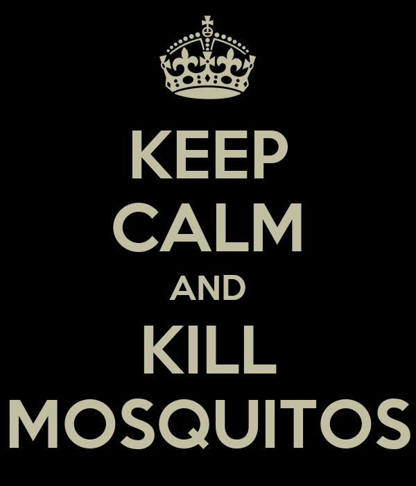KEEP CALM AND KILL MOSQUITOS