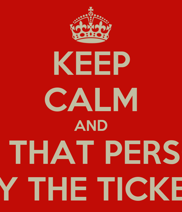KEEP CALM AND KILL THAT PERSONS THAT BUY THE TICKETS OF 1D