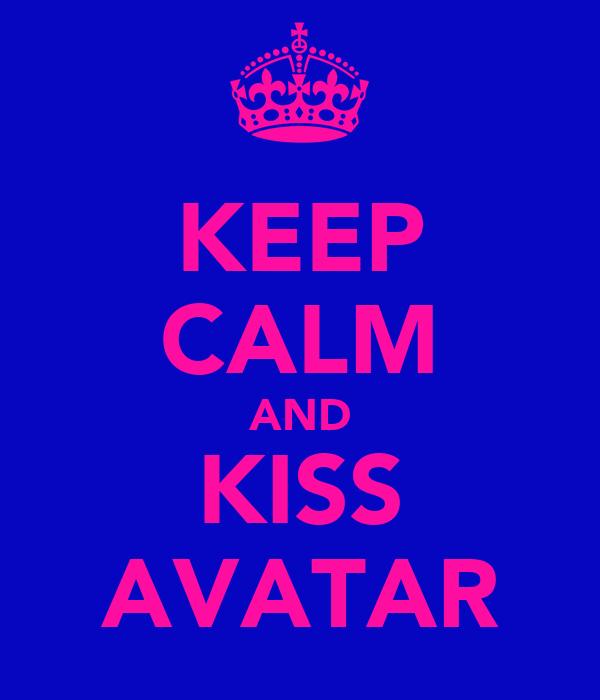 KEEP CALM AND KISS AVATAR