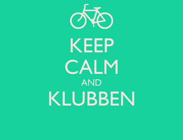KEEP CALM AND KLUBBEN