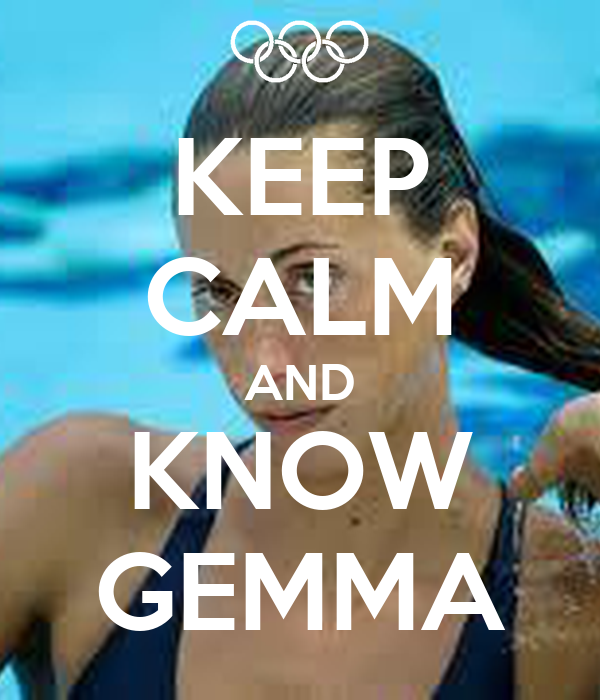 KEEP CALM AND KNOW GEMMA