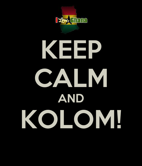 KEEP CALM AND KOLOM!