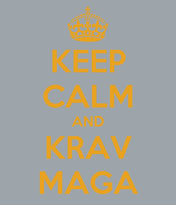 KEEP CALM AND KRAV MAGA