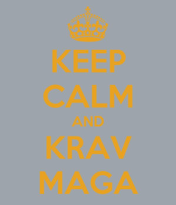 KEEP CALM AND KRAV MAGA