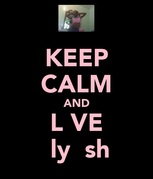 KEEP CALM AND L♥VE Ƙlyŋιsh