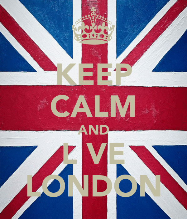 KEEP CALM AND L♥VE LONDON