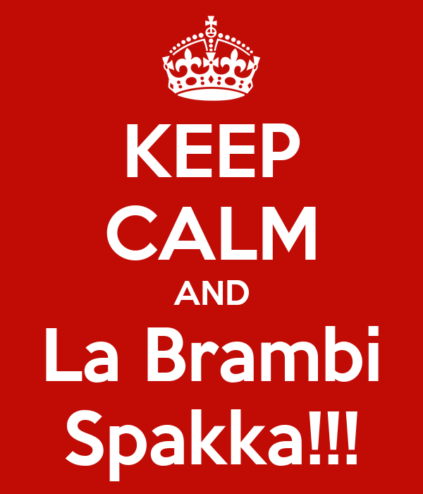 KEEP CALM AND La Brambi Spakka!!!