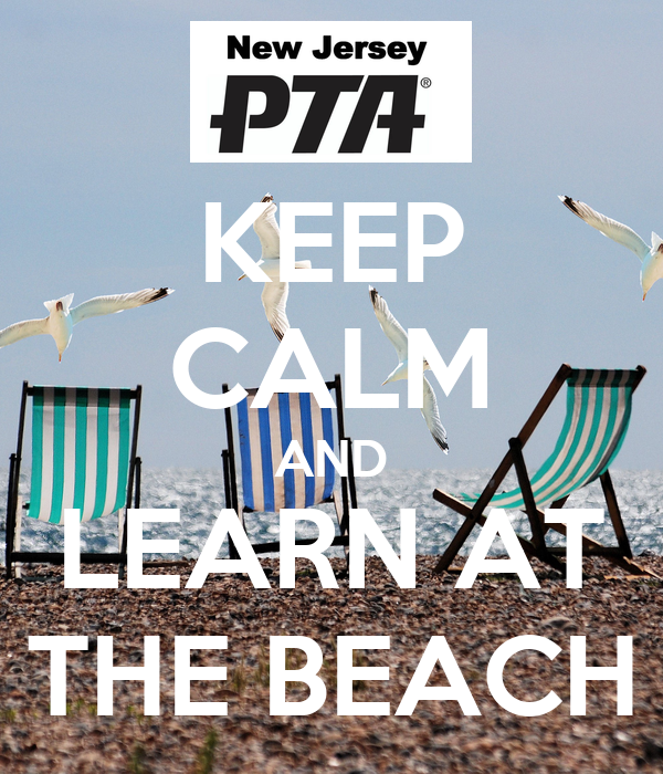 KEEP CALM AND LEARN AT THE BEACH