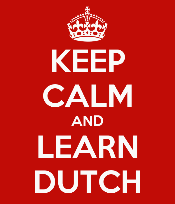 how to learn dutch in a week