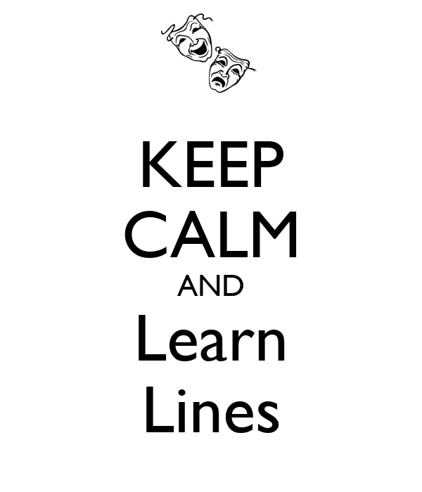 KEEP CALM AND Learn Lines