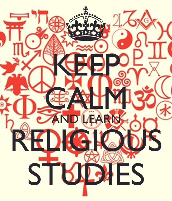 Religious Studies: KEEP CALM AND LEARN RELIGIOUS STUDIES Poster
