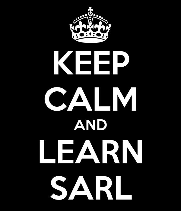 KEEP CALM AND LEARN SARL