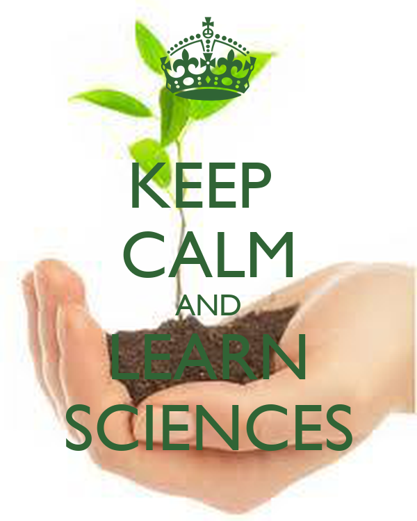 KEEP  CALM AND LEARN SCIENCES