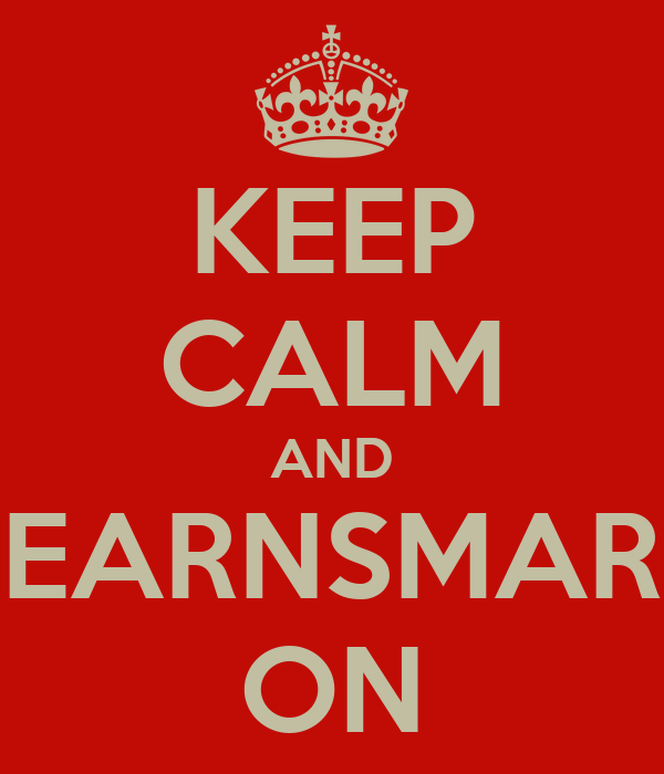 KEEP CALM AND LEARNSMART ON