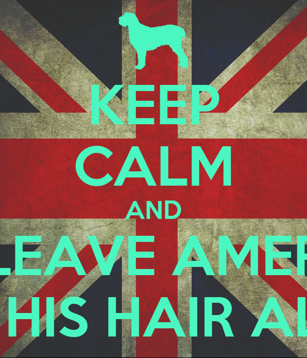 KEEP CALM AND LEAVE AMER AND HIS HAIR ALONE