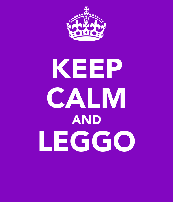 KEEP CALM AND LEGGO