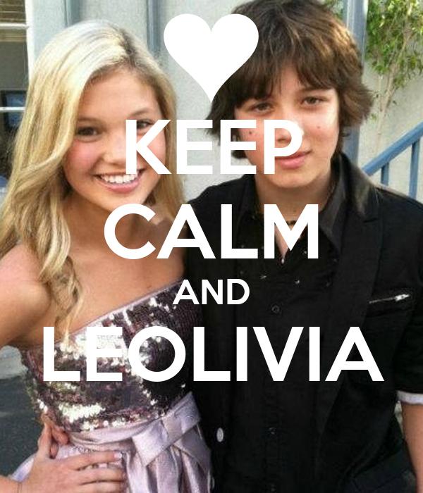 KEEP CALM AND LEOLIVIA
