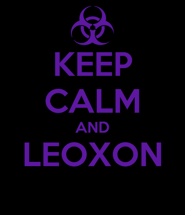 KEEP CALM AND LEOXON