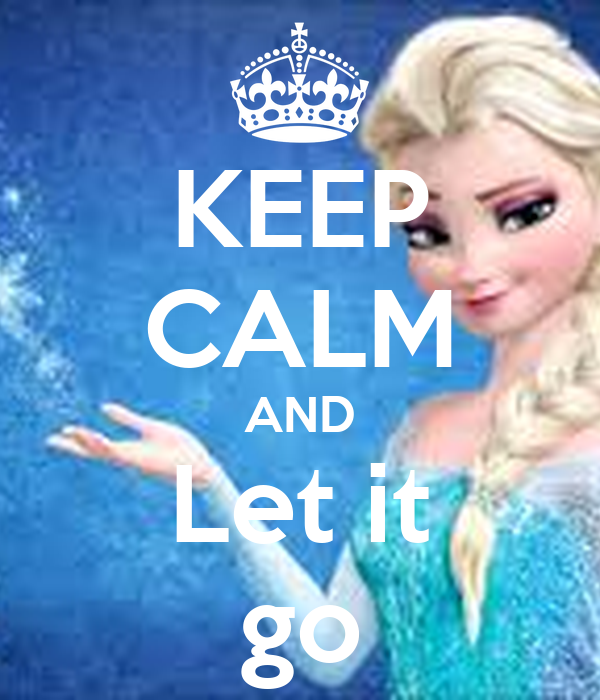 keep calm and let it go poster isaac keep calmomatic