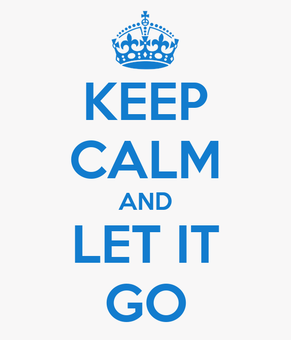 Keep calm and let it go poster suzete keep calm o matic