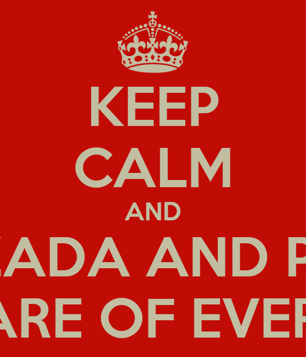 KEEP CALM AND LET LAZADA AND PAYMILL TAKE CARE OF EVERYTHING