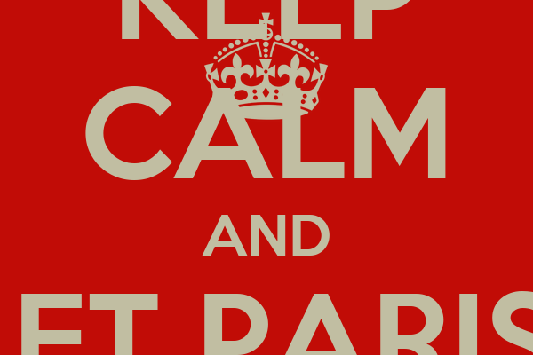 KEEP CALM AND LET PARIS  SLOVE THE CASE