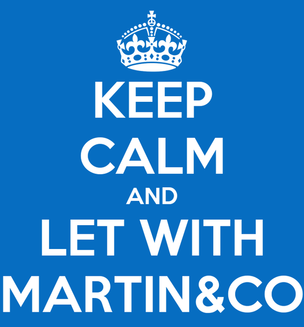 KEEP CALM AND LET WITH MARTIN&CO