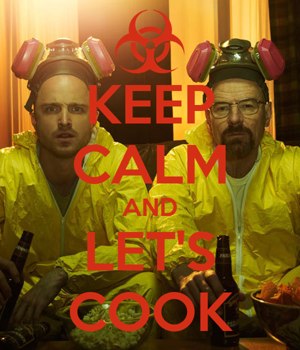 KEEP CALM AND LET'S COOK