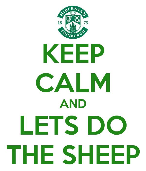 KEEP CALM AND LETS DO THE SHEEP