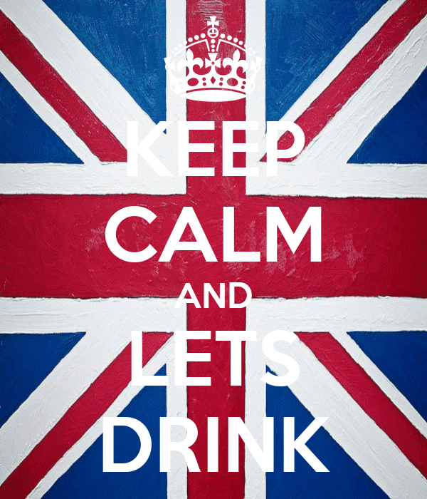 KEEP CALM AND LETS DRINK