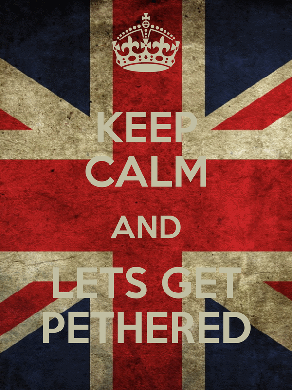 KEEP CALM AND LETS GET PETHERED