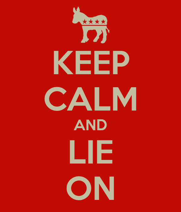 KEEP CALM AND LIE ON