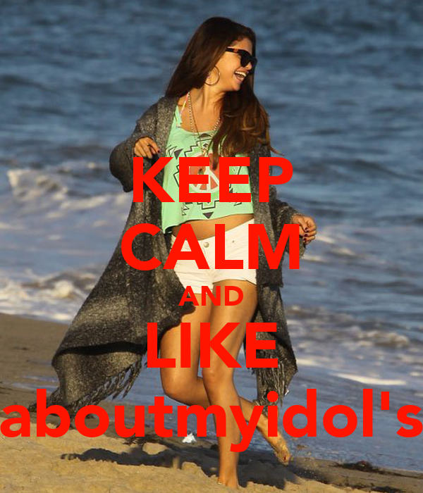 KEEP CALM AND LIKE #aboutmyidol's.ϟ