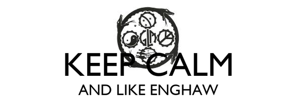KEEP CALM AND LIKE ENGHAW