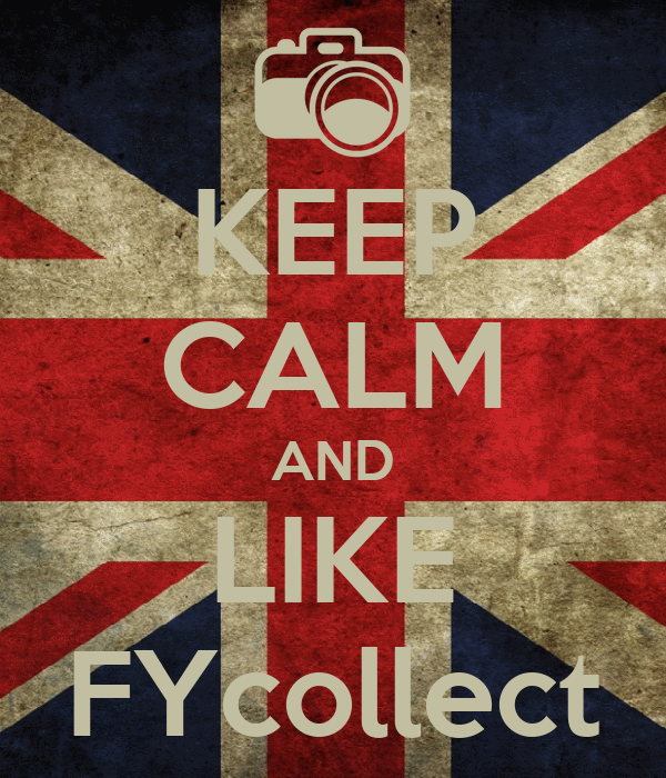 KEEP CALM AND LIKE FYcollect