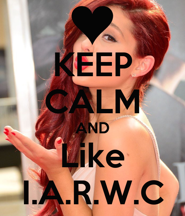 KEEP CALM AND Like I.A.R.W.C