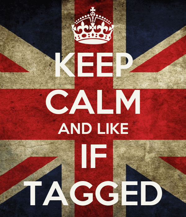 KEEP CALM AND LIKE IF TAGGED