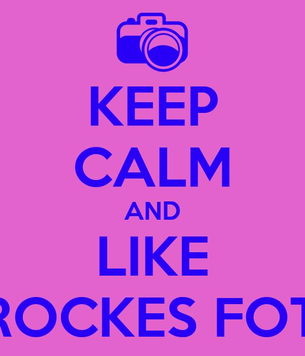 KEEP CALM AND LIKE LAUREN BROCKES FOTOGRAPHY