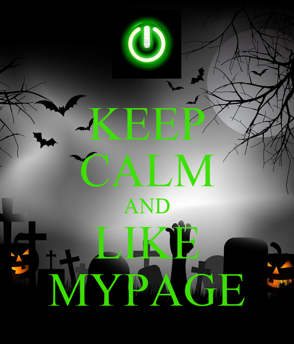 KEEP CALM AND LIKE MYPAGE