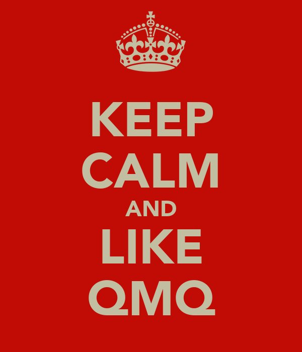 KEEP CALM AND LIKE QMQ